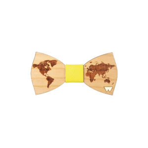 Papillon Bimbo in legno World, marcato Woodillon