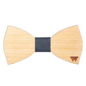 Papillon in legno ciliegio, marcato Woodillon