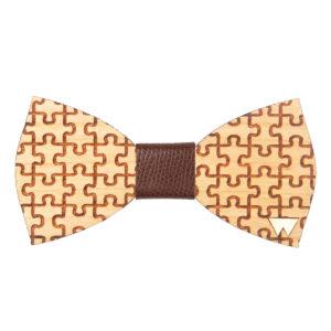 Papillon in legno Puzzle marcato Woodillon
