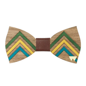 Papillon in legno Arrow, marcato Woodillon