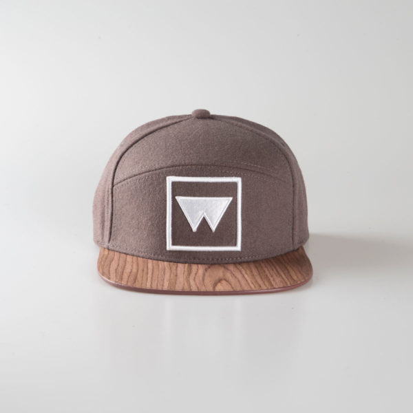 Cappello Snow Grey marcato Woodillon