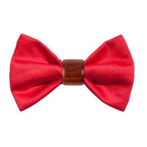 WOODILLON - Papillon in Stoffa Red Passion