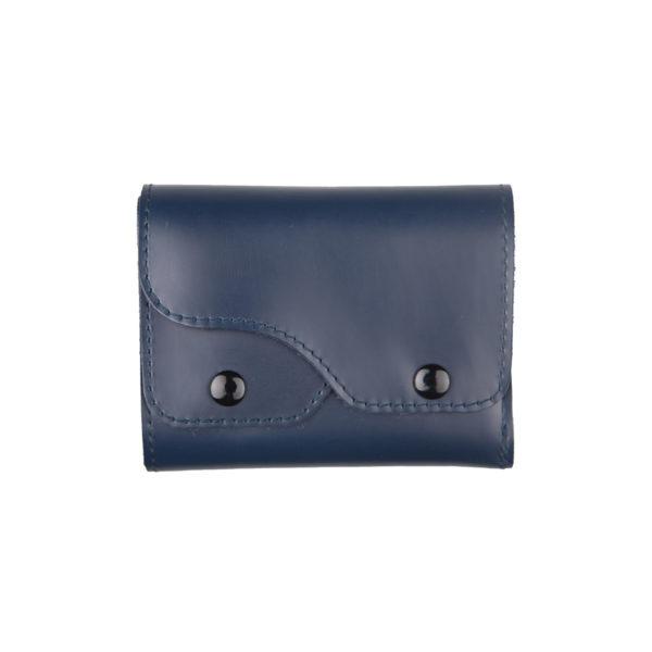 Portafoglio Cash Blu, marcato Woodillon