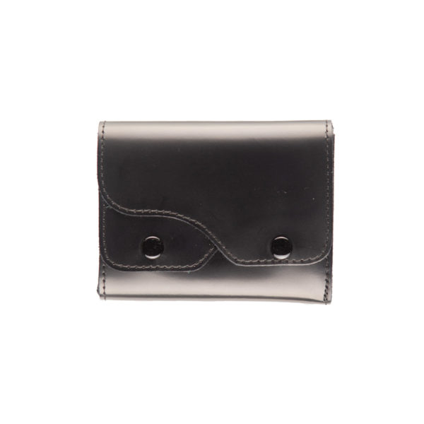 Portafoglio Cash nero, marcato Woodillon