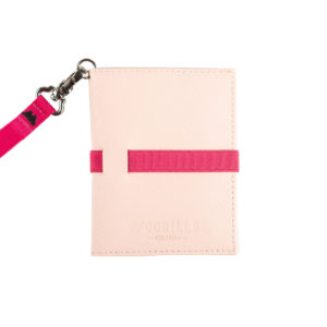 portafoglio smart pink rose, Woodillon