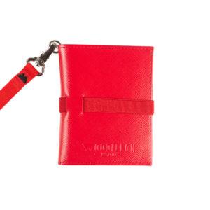 Portafoglio Smart Red Red, Woodillon