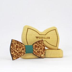 Papillon in legno, artigianale, Astaire
