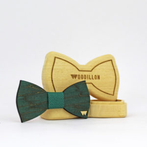 Papillon in legno Mallarmè, realizzato da Woodillon