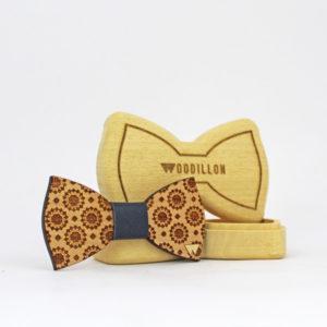 Papillon in legno artigianale Puccini