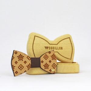 Papillon legno Sinatra, artigianale e marchiato Woodillon