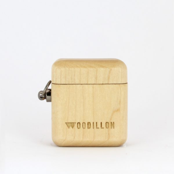 airpods case in legno di faggio, Woodillon