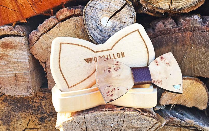 Accessori moda in legno 100% Made in Italy - papillon nuova collezione