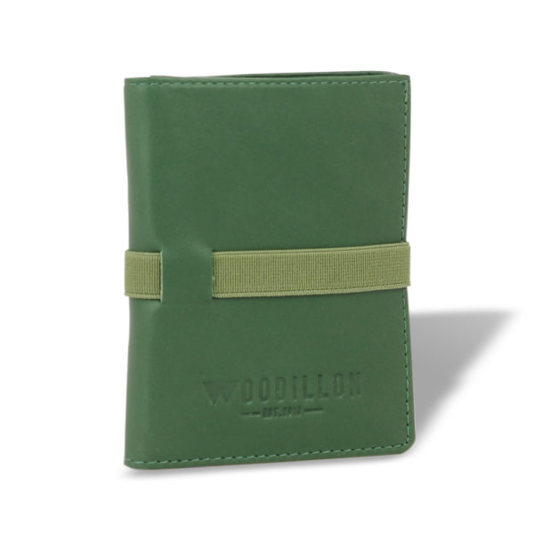 Portafoglio Smart 76 Verde - Woodillon