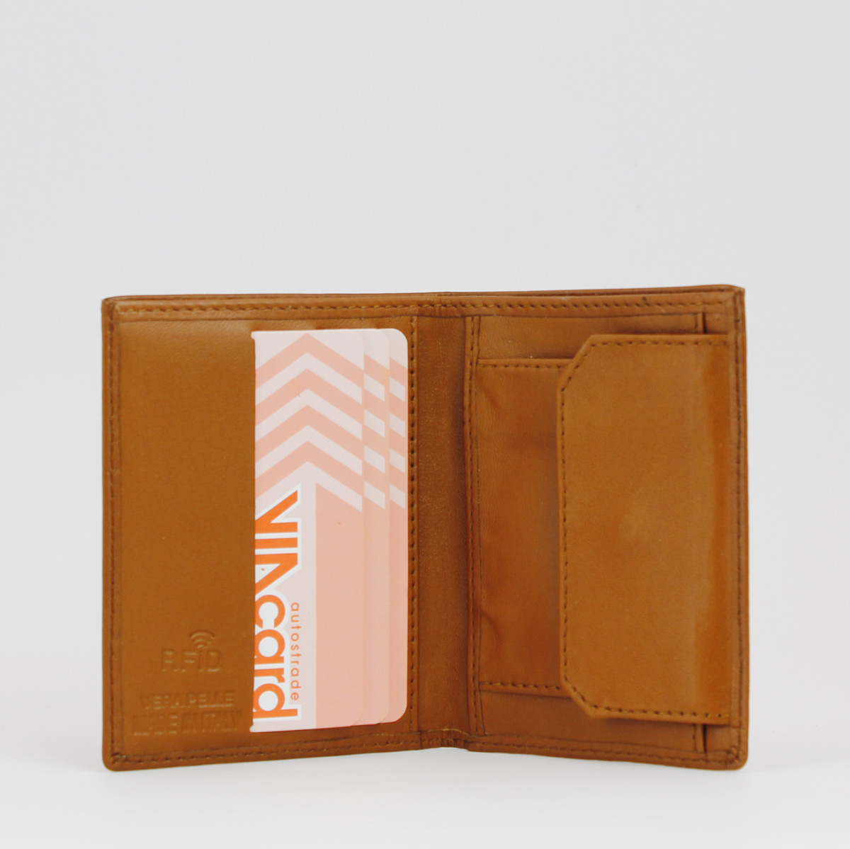 portafoglio smart cork 72 dettaglio interno, Woodillon