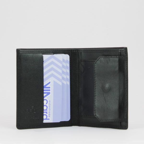 Portfoglio Smart 72 nero, marcato Woodillon