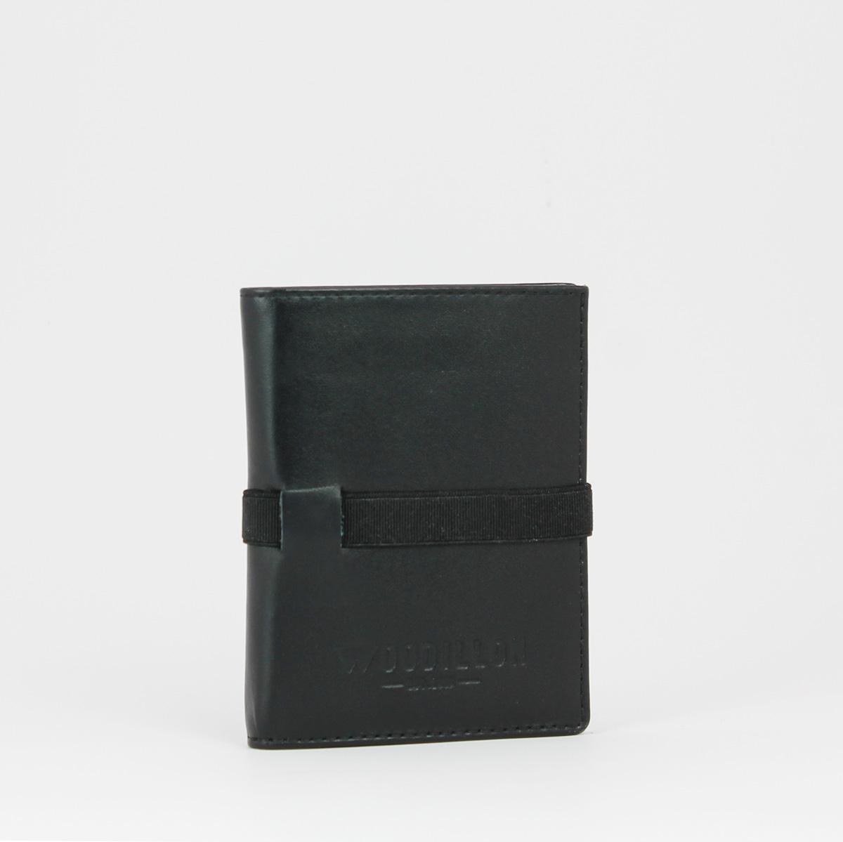 Portafoglio smart 72 nero woodillon