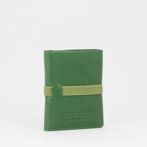 Portafoglio smart 76 verde Woodillon