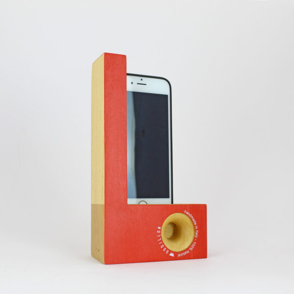 Smartphone station Woodillon Red