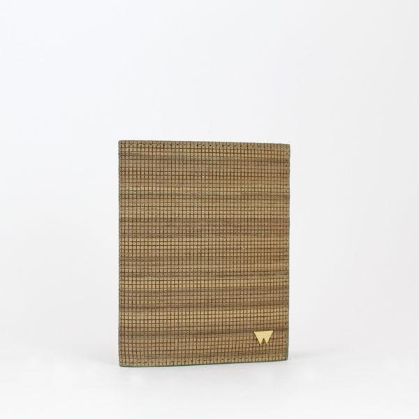 Portafoglio smart wood 76 in legno di noce Woodillon