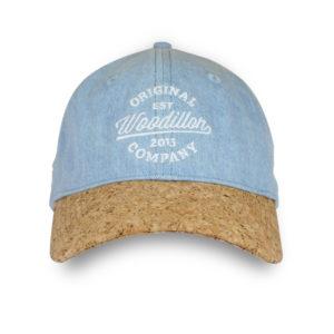WOODILLON - Cappellino jeans blue