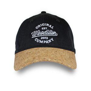 WOODILLON - Cappellino jeans nero
